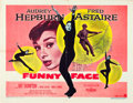 "Movie Posters:Romance, Funny Face (Paramount, 1957). Half Sheet (22"" X 28"") Style B.. ..."