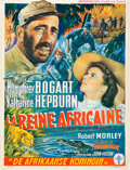 "Movie Posters:Adventure, The African Queen (United Artists, 1952). Belgian (14"" X 18.5"")....."