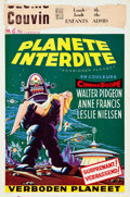 """Movie Posters:Science Fiction, Forbidden Planet (MGM, 1956). Belgian (14.5"""" X 22"""").. ..."""