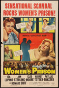 """Movie Posters:Bad Girl, Women's Prison (Columbia, 1955). One Sheet (27"""" X 41""""). Bad Girl....."""