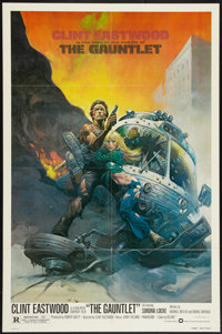 """The Gauntlet Lot (Warner Brothers, 1977). One Sheets (2) (27"""" X 41""""). Action. ... (Total: 2 Items)"""