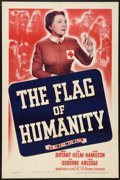 "Movie Posters:Short Subject, The Flag of Humanity (Warner Brothers, 1940). One Sheet (27"" X41""). Short Subject.. ..."