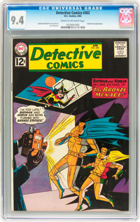 Detective Comics #302 (DC, 1962) CGC NM 9.4 Cream to off-white pages