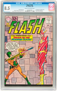 The Flash #126 (DC, 1962) CGC VF+ 8.5 Cream to off-white pages