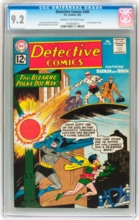 Detective Comics #300 (DC, 1962) CGC NM- 9.2 Cream to off-white pages