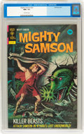 Bronze Age (1970-1979):Adventure, Mighty Samson #21 (Gold Key, 1972) CGC NM+ 9.6 Off-white pages....