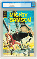 Bronze Age (1970-1979):Miscellaneous, Mighty Samson #22 (Gold Key, 1973) CGC NM+ 9.6 Off-white to whitepages....