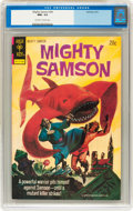 Bronze Age (1970-1979):Miscellaneous, Mighty Samson #24 (Gold Key, 1974) CGC NM+ 9.6 Off-white to whitepages....