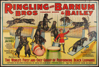 """Circus Poster Lot (Ringling Brothers and Barnum & Bailey, 1938). Poster (53"""" X 80""""). Miscellaneous..."""