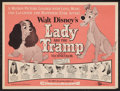 "Movie Posters:Animated, Lady and the Tramp (Buena Vista, 1955). Herald (9"" X 12"").Animated.. ..."