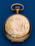 Timepieces:Pocket (post 1900), Waltham, 6 Size, Gold Filled, Multi-Color. ...