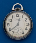 Timepieces:Pocket (post 1900), Hamilton, 21 Jewels, 992B. ...