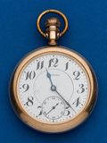Timepieces:Pocket (post 1900), Howard, 23 Jewels, Series O. ...