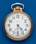 Timepieces:Pocket (post 1900), Elgin, B.W. Raymond, 21 Jewels. ...