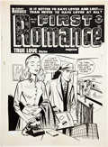 Original Comic Art:Covers, Al Avison True Bride-to-Be Romances #18 Cover Original Art(Harvey, 1956)....