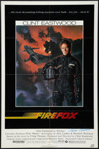 """Firefox (Warner Brothers, 1982). Autographed One Sheet (27"""" X 41""""). Action"""