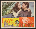 "Movie Posters:War, Days of Glory (RKO, 1944). Lobby Card (11"" X 14""). War.. ..."