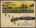 "Movie Posters:Western, The Searchers (Warner Brothers, 1956). Half Sheet (22"" X 28""). Western.. ..."