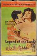 "Movie Posters:Adventure, Legend of the Lost (United Artists, 1957). Poster (40"" X 60"").Style Z. Adventure.. ..."