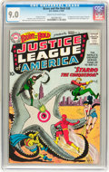 Silver Age (1956-1969):Superhero, The Brave and the Bold #28 Justice League of America (DC, 1960) CGCVF/NM 9.0 Cream to off-white pages....
