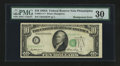 Error Notes:Shifted Third Printing, Fr. 2011-C* $10 1950A Federal Reserve Note. PMG Very Fine 30.. ...