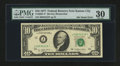 Error Notes:Ink Smears, Fr. 2023-J* $10 1977 Federal Reserve Note. PMG Very Fine 30.. ...