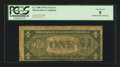 Error Notes:Skewed Reverse Printing, Fr. 2300 $1 1935A Hawaii Silver Certificate. PCGS Very Good 08.....
