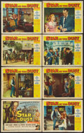 """Movie Posters:Western, Star in the Dust (Universal, 1956). Lobby Card Set of 8 (11"""" X 14""""). Western.. ... (Total: 8 Items)"""