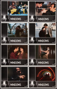 """Windows (United Artists, 1980). Lobby Card Set of 8 (11"""" X 14"""") Style A. Thriller. ... (Total: 8 Items)"""