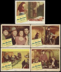 """Movie Posters:Western, The Outlaw (United Artists, 1946). Lobby Cards (5) (11"""" X 14""""). Western.. ... (Total: 5 Items)"""