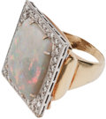 Music Memorabilia:Memorabilia, Elvis' Opal Ring (Lowell Hays, 1970s).... (Total: 4 Items)