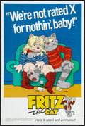 "Movie Posters:Animated, Fritz the Cat (Cinemation Industries, 1972). First Release Special Promotional Poster (18"" X 27""). Animated.. ..."