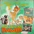 "Movie Posters:Animated, Bambi (Buena Vista, R-1957). Six Sheet (81"" X 81""). Animated.. ..."