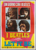 "Movie Posters:Rock and Roll, Let It Be (Dear Film, 1970). Italian 4 - Foglio (55"" X 78""). Rockand Roll.. ..."