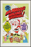 "Movie Posters:Animated, Mr. Magoo's Holiday Festival (Maron, 1970). One Sheet (27"" X 41""). Animated.. ..."