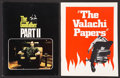 """Movie Posters:Crime, The Godfather Part II Lot (Paramount, 1972). Programs (2) (Multiple Pages, 8.5"""" X 11""""). Crime.. ... (Total: 2 Items)"""