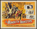 "Movie Posters:Science Fiction, The Monolith Monsters (Universal International, 1957). Half Sheet(22"" X 28""). Science Fiction.. ..."