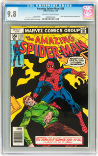 The Amazing Spider-Man #176 (Marvel, 1978) CGC NM/MT 9.8 Off-white to white pages