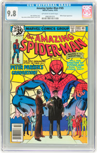 The Amazing Spider-Man #185 (Marvel, 1978) CGC NM/MT 9.8 Off-white to white pages
