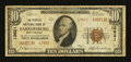 National Bank Notes:West Virginia, Parkersburg, WV - $10 1929 Ty. 2 The Peoples NB Ch. # 13621. ...