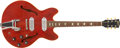 Musical Instruments:Electric Guitars, 1967 Gibson ES-330 Guitar, #O60853.... (Total: 2 Items)