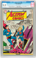 Silver Age (1956-1969):Superhero, Action Comics #252 (DC, 1959) CGC FN- 5.5 Cream to off-white pages....