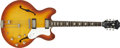 Musical Instruments:Electric Guitars, 1964 Epiphone Riviera Electric Guitar, #174412.... (Total: 2 Items)