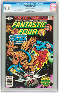 Fantastic Four #211 (Marvel, 1979) CGC NM/MT 9.8 Off-white to white pages