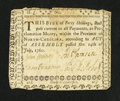 Colonial Notes:North Carolina, North Carolina July 14, 1760 40s Extremely Fine.. ...