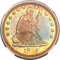 Proof Seated Quarters, 1885 25C PR67 NGC....