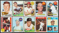 Baseball Cards:Lots, 1965 and 1969 Topps Baseball Collection With Reggie Jackson Rookie (38). ...