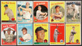 Baseball Cards:Lots, 1957 - 1959 Topps Baseball Collection With Stars (27 cards). ...