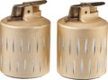 Movie/TV Memorabilia:Memorabilia, Lucille Ball's Brass Cigarette Lighters.... (Total: 2 Items)
