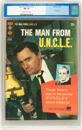 Silver Age (1956-1969):Adventure, Man from U.N.C.L.E. #3 (Gold Key, 1965) CGC NM 9.4 Off-white to white pages....